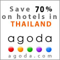 Book your hotel in Thailand with Agoda