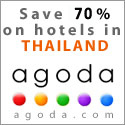 Sunrise Divers recommends Agoda for online Thailand hotel booking...