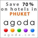 Sunrise Divers empfiehlt Agoda für online Phuket Hotel Buchungen...