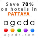 Hotels in Pattaya, Thailand.