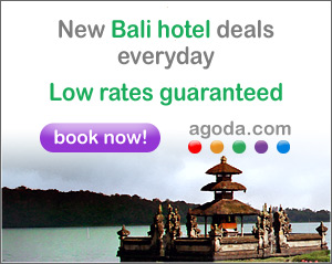 Bali hotels from Agoda