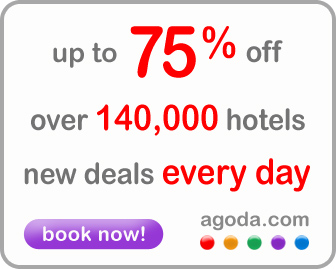 Book your hotel now with Agoda!